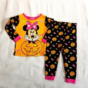 Minnie Mouse Halloween pajamas 18 months